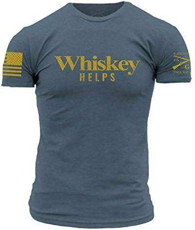 Grunt Style Whiskey Helps Indigo 2XLarge product image