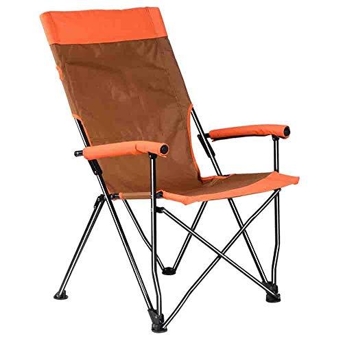 Axdwfd Chaise longue Chaise pliante d'extérieur inclinable en plein air Chaise de directeur de directeur de chaise de pêche de plage de Mazar, chaise de pêche esquisse, chaise portable (taille: 69 * 6