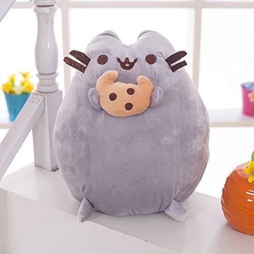 JMHomeDecor Kuscheltiere Weiches Kissen Keks Katze Kuscheltiere Plüschtiere Puppe Geburtstagsgeschenke Für Kinder Kinderzimmer Totoro
