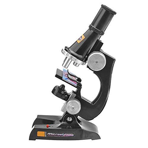 HYY-YY Microscopio Kit Laboratorio Inicio Escuela Ciencia Juguete Educativo Compatible con Niños Niño