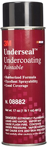 3M Undercoating, 08882, 17 oz (481 g) Net Wt