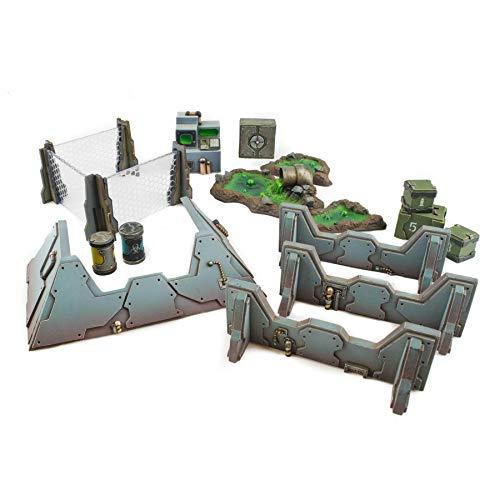 War World Gaming Industry of War - Set Completo de Piezas Sci-Fi - 28mm, Wargaming, Wargames, Miniaturas, Escenografía Miniatura, Modelismo, Maquetas, Dioramas, Envío con Seguimiento