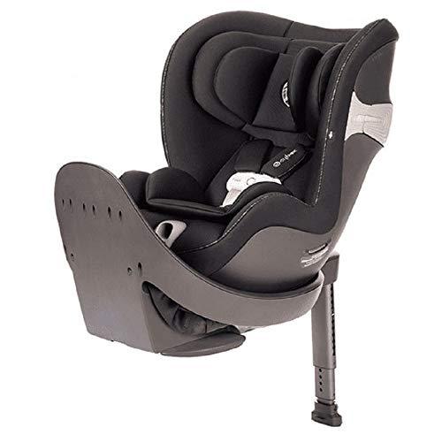 CYBEX Sirona S Assento de carro conversível giratório com SensorSafe 2.1, infantil recém-nascido a quatro anos, fácil de carregar na pré-escola, em preto urbano