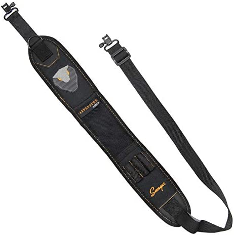 SUNYA Rifle and Shotgun Sling with Non Slip Neoprene Padded Shoulder Strap Ultra Durable Hypalon product image