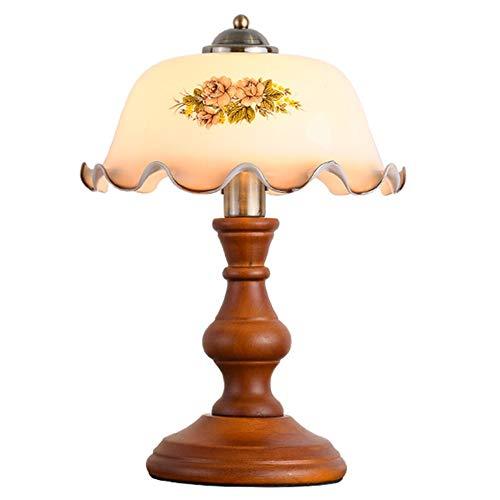 Button Table Lamp, Printed Glazen Tafel Lamp, E27 Student Reading Table Lamp, Spuitlak Enrobeerwerk Process Table Lamp/Lamp Geschikt For De Slaapkamer En Woonkamer Study