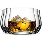 Whiskey Bar Glasses Set of 6 | Luxurious 10 Ounce Old Fashioned Glassware Set | Our Scotch & Bourbon Glass Tumblers Make A Great Gift Idea For Cocktail Enthusiasts |Rock Glasses Made in Europe
