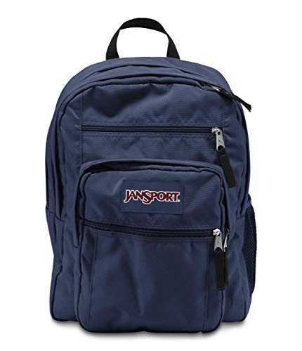 JanSport Rucksack Big Student, navy, 43x33x25, 34 liters, TDN7