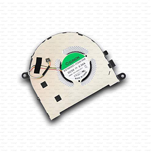 X-Comp EG70050S1-1C040-S9A - Ventilador de CPU para Lenovo Yoga C940-15IRH 81TE