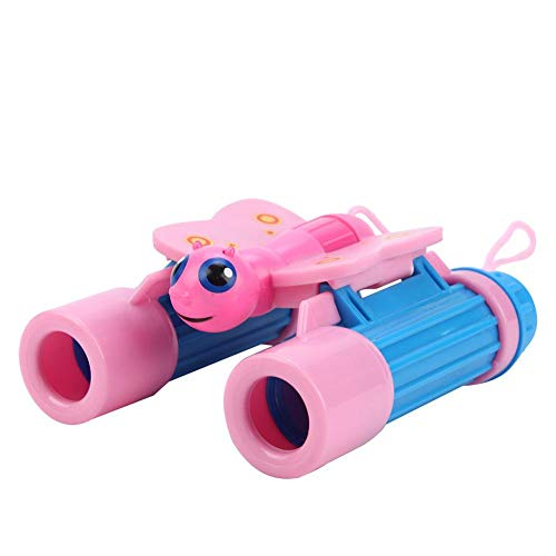 Binoculars for Kids Best Gifts for More Than 3 Years Old Boys Girls 4X25 High-Resolution Mini Compact Binocular Toys for Bird Watching,Travel, Camping(Butterfly)