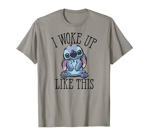 Disney Woke Up Like Stitch T-Shirt