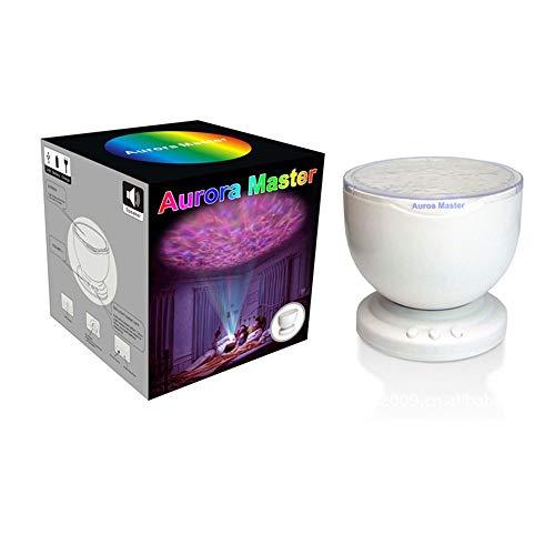 Ocean Projection Afstandsbediening Sterrenhemel Projectie Kleurrijke USB Muziek Nachtlampje