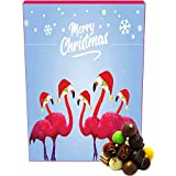 Hallingers Pralinen-Adventskalender - Flamingo (Advents-Karton)