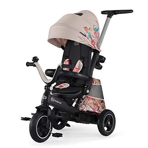 Kinderkraft Tricycle EASYTWIST bird - Baby, Unisex Infantil, Multicolor(bird)