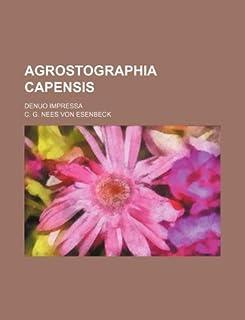 Agrostographia Capensis; Denuo Impressa