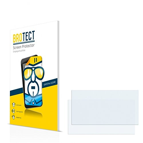 2X BROTECT HD Clear Displayschutz Schutzfolie für Kenwood DNR8025BT (kristallklar, extrem Kratzfest, schmutzabweisend)