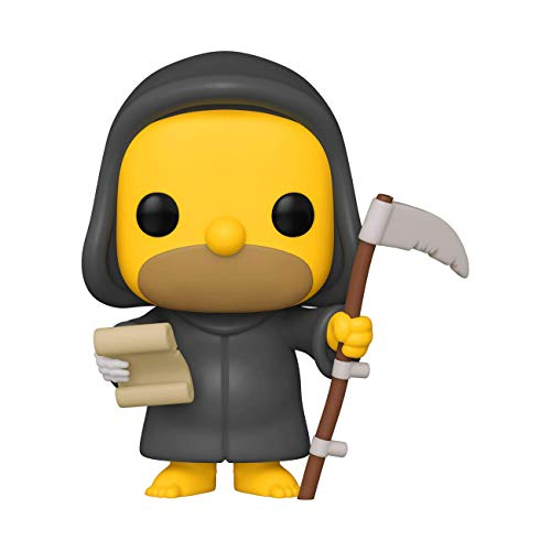 Funko- Pop Animation: Simpsons-Reaper Homer Figura Coleccionable, Multicolor (50137)