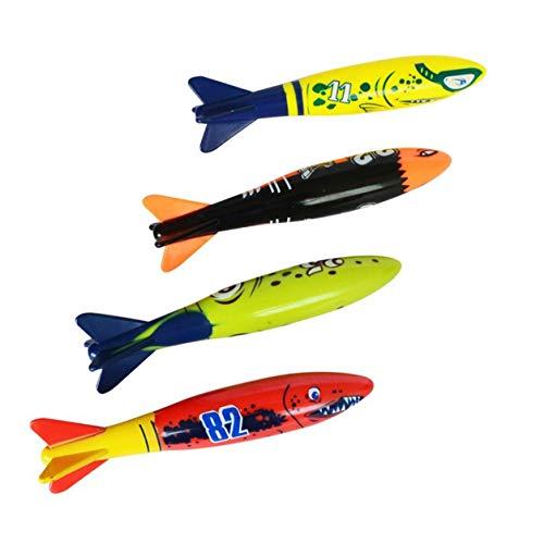 Immersione Torpedo Piscina subacquea Gioco Giocattolo Strumento di allenamento per sport all'aperto per bambini Giocattolo da nuoto per regali di Natale