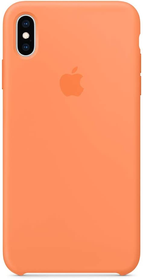 Xicmou Xs Max Silicone Case Compatible with iPhone Xs Max Silicone Case Rubber Shockproof Cover for iPhone Xs Max (Papaya-A)