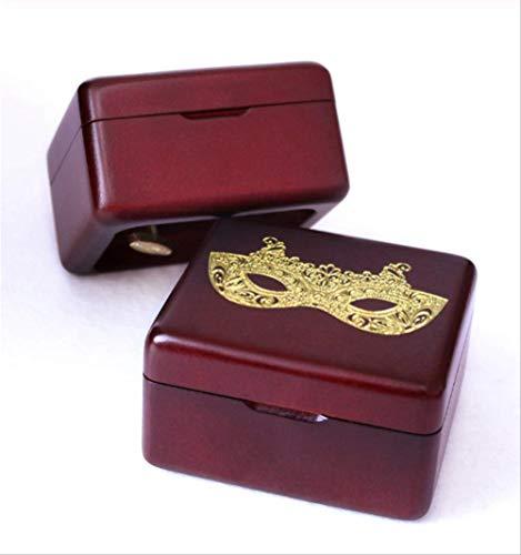 Spieluhr Handgefertigt Aus Holz Phantom Der OperMasqueradGeburtstagsgeschenk Für Weihnachten Valentinstag Besondere Geschenke