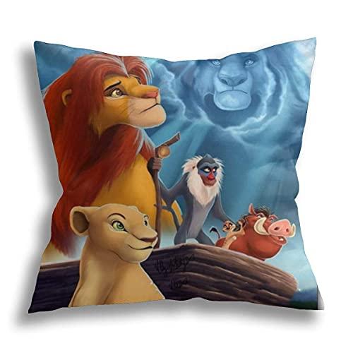 The lion King - Almohada ortopédica de espuma viscoelástica para dolor de cuello, almohada ergonómica para dormir de espalda, dormir de lado y dormir de estómago