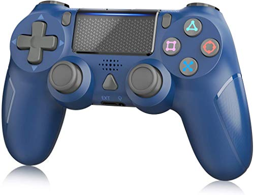 Wireless Controller for PS4, YAEYE Gamepad Joystick Wireless Remote Pro Controller for PS4/PRO/SLIM with Motion Motors and Built-in Audio Function