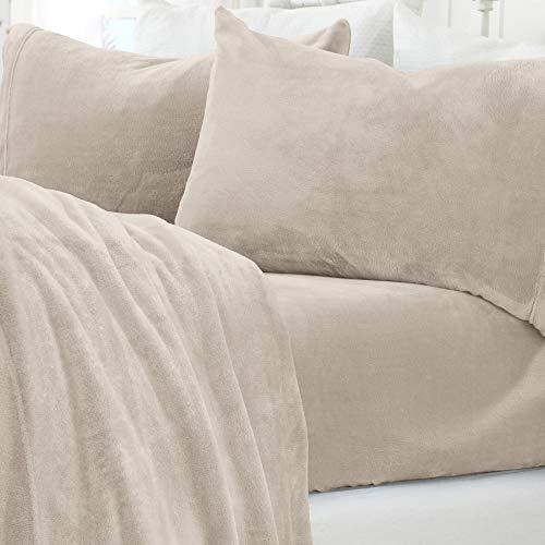 Great Bay Home Micro Fleece Extra Soft Cozy Velvet...