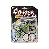 Finger Bicycle Mini Alloy Finger Bicycle Accessories Bicycle Skate Fingerboard Cycling Fingertip Novelty Toys Scooters Child