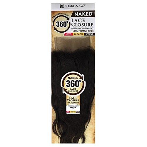 """Naked 360 Circular Closure Straight 16"""" (Natural Dark)"""