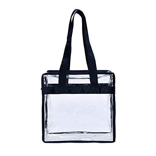 Vrouwen Tote Grote Tas Handtas PVC make-up Cosmetische Transparante Tassen Reistas