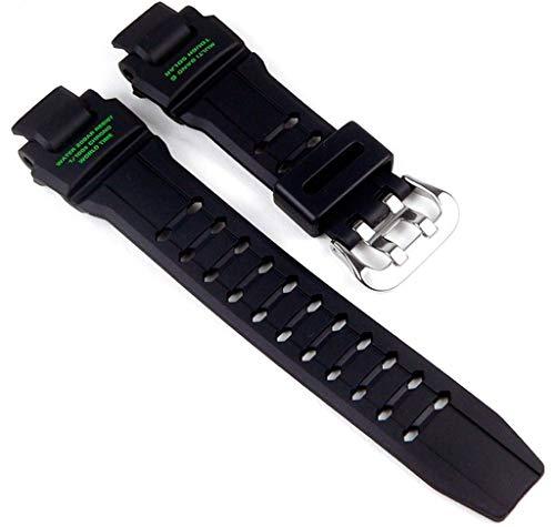 Casio Uhrenarmband Resin schwarz für GW-4000 GW-4000-1A3ER