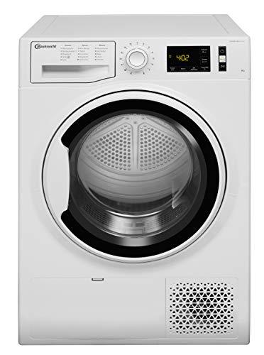 Bauknecht T Pure M11 82WK DE Wärmepumpentrockner/A++ / 8 kg/ActiveCare-Technologie/EasyCleaning-Filter/Wolle-Programm/Startzeitvorwahl/Anti-Allergie-Programm