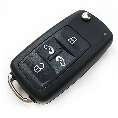1pc Reemplazo del automóvil Cáscara de llave plegable fuerte y duradero fácil...