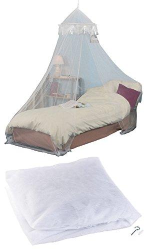 Moustiquaire à maille 225 pour lit simple