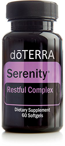 doTERRA - Serenity Softgels Essential Oil Restful Complex - 60 Softgels