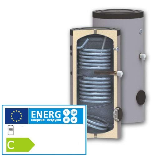 Solarspeicher Brauchwasserspeicher 300Liter Thermoflux TBWS-RR Bi-Valent