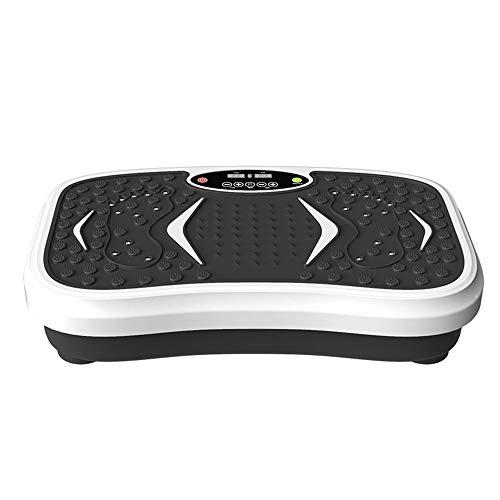 Kracht Vibration Plate, trilplaat Trainer, met Display, Mute, 99 Speed Levels, 120 kg laadvermogen, voor thuis, kantoor en Gym
