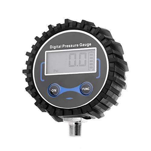 TANGIST 0-200 psi Digital Neumático Medidor de presión Air Air PSI METER TEVER TESTER 1/8 NPT R9JF