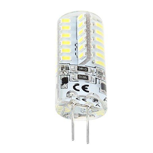 Gesh G4 2W 48 LED 3014 SMD Blanco Marino Barco Bombilla Bombilla CA 12V 6500K