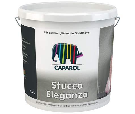 Caparol Capadecor Stucco Eleganza, Cremeweiß metallisch, 2,5 Liter
