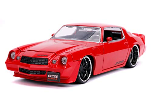 Bigtime Muscle 1:24 1979 Chevy Camaro Z28 Die-cast Car Red, Toys for Kids and Adults