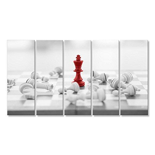 islandburner Cuadro Cuadros Concepto de negocio de ajedrez, líder y éxito Genial y muy bonito GBV
