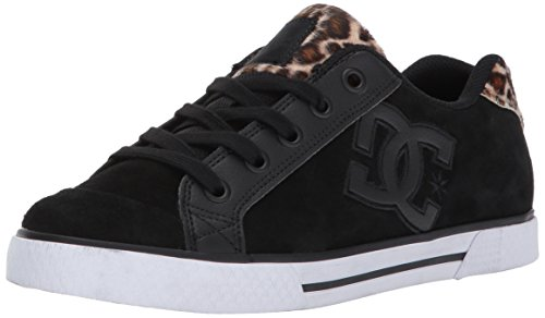 DC Women's Chelsea SE Skate Shoe, Animal, 7.5 B US