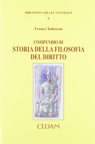 Compendio di storia della filosofia del diritto