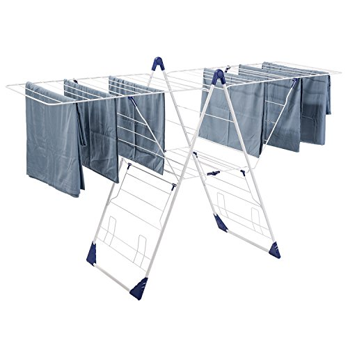 Quick Open Extra Large Clothes Drying Rack for Inside Use by Drynatural