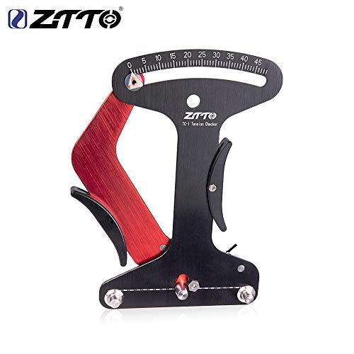 Elegstunning Speichenspannungsmesser für Fahrräder, Speichenspannungsmesser, Präzises Messgerät