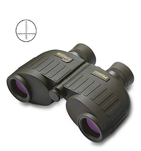 Steiner Military 8x30 R LPF Fernglas mit Strichplatte Reticle Version, Laser Protection Filter, Gummiarmiert, Stickstoff befüllt, Druckwasserdicht
