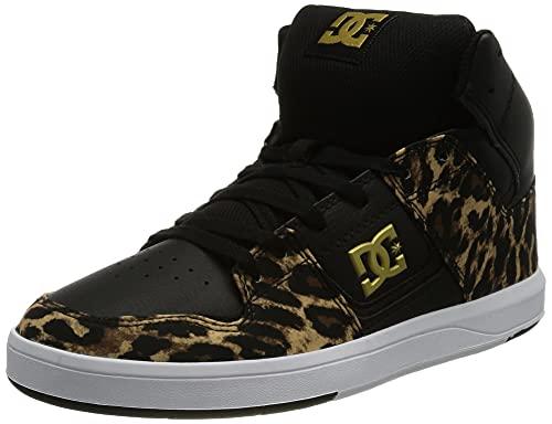 DC Shoes Cure HI Top, Zapatillas Mujer, marrón, 37.5 EU