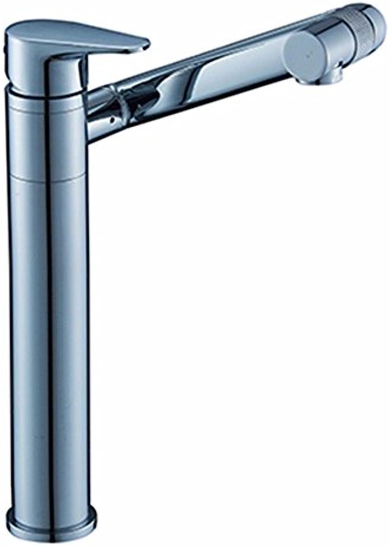 Lalaky Waschtischarmaturen Wasserhahn Waschbecken Spültisch Küchenarmatur Spültischarmatur Spülbecken Mischbatterie Waschtischarmatur Hei Und Kalt Kann Sich Um 360 Grad Gold Drehen