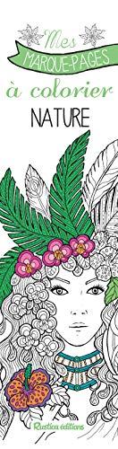 Mes marque-pages à colorier - Nature de Marica Zottino