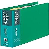 コクヨ 名刺入れ 替紙式 300名 緑 メイ-30G Japan